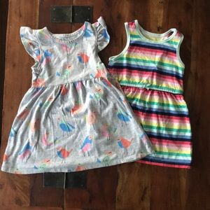 Girls dresses 24 months Carters and Jumping Beans